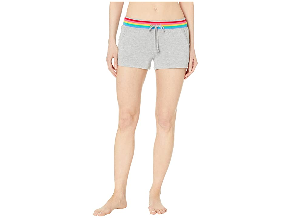 P.J. Salvage Rainbow Shorts (Heather Grey) Women