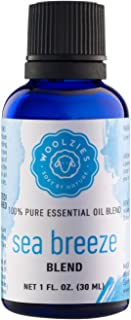 Woolzies 100% Pure & Natural Sea Ocean Breeze Essential Oil 1 Oz | Great for Relaxing, Stress Relieving, Refreshing, Candle & Soap Making, Diffuser | Highest Quality Aromatherapy Therapeutic Grade