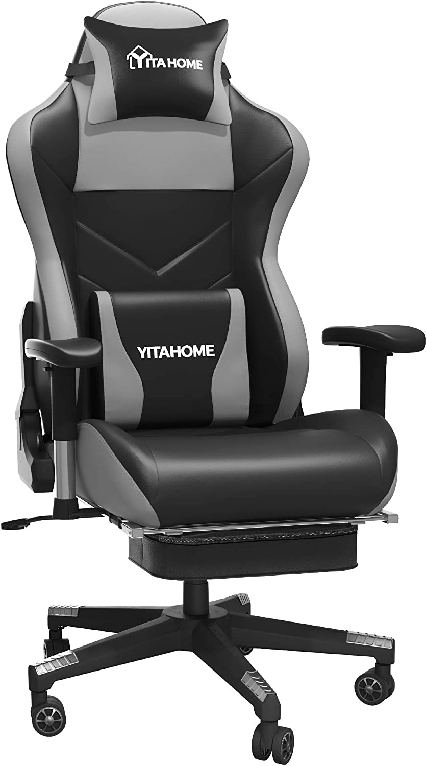 YITAHOME Massage Gaming Chair with Wholesale Big and Popular product Tall Footrest 380lbs