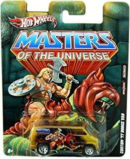 '77 DODGE VAN * HE-MAN * Hot Wheels Masters of the Universe 2011 Nostalgia Series 1:64 Scale Die-Cast Vehicle