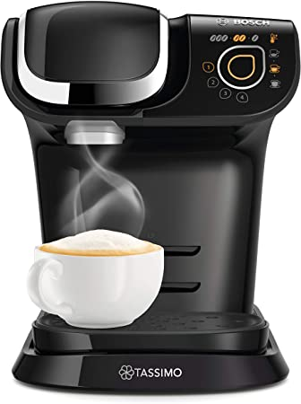 Tassimo Bosch My Way 2 TAS6502GB Coffee Machine, 1500 Watt, 1.3 Litre