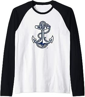 US Naval Academy Midshipmen NCAA PPUSNA02 Raglan Baseball Tee