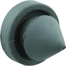 Prime-Line Products MP4566 Door Stop Silencer, 1/2 in. Outside Diameter, Solid Rubber Construction, Gray in Color, Pack of 100