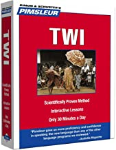 Pimsleur Twi Level 1 CD: Learn to Speak and Understand Twi with Pimsleur Language Programs (1) (Compact)