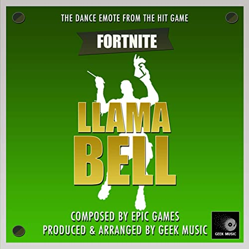 Fortnite Battle Royale - Llama Bell - Dance Emote