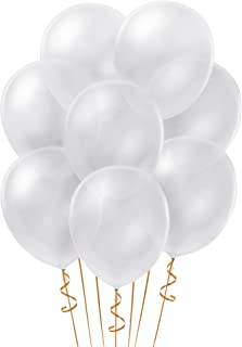 Sepco 12 Inches Clear Party Latex Balloons (100 Pcs)