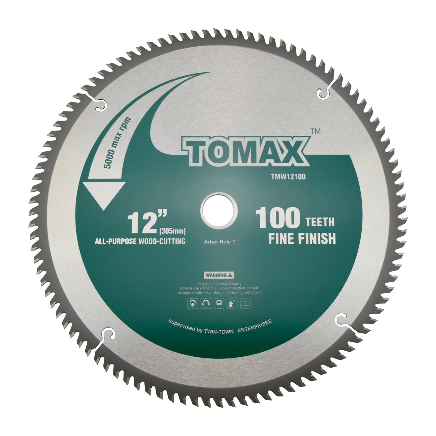 TOMAX 12-Inch 100 Tooth Miter saw Blade