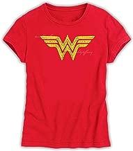 Wonder Woman Vintage T Shirt Short Sleeve Hoodie Boys Fashion Graphic Design Gifts of Love (201)