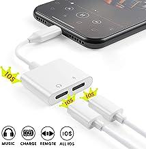 [Apple MFi Certified] 2 in 1 Dual Lightning iPhone Adapter & Splitter, Adapter Dual..