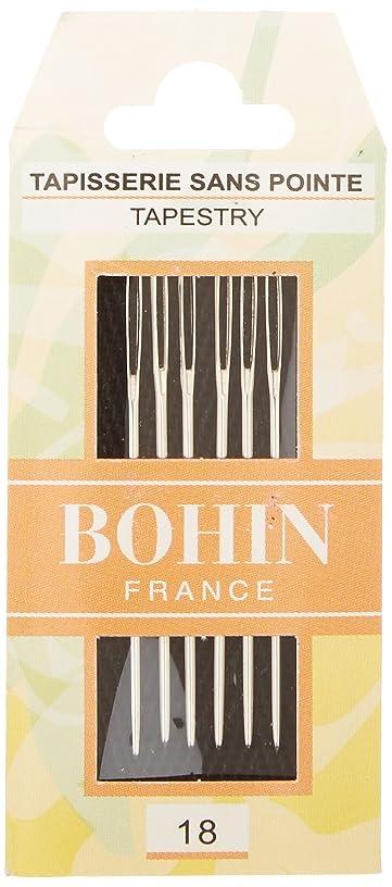 Bohin Tapestry Hand Needles, Size 18 6/Pkg