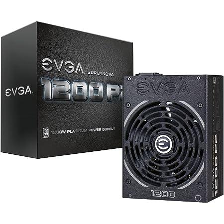 EVGA Supernova 1200 P2 80+ Platinum, 1200W ECO Mode Fully Modular NVIDIA SLI and Crossfire Ready 10 Year Warranty Power Supply 220-P2-1200-X1