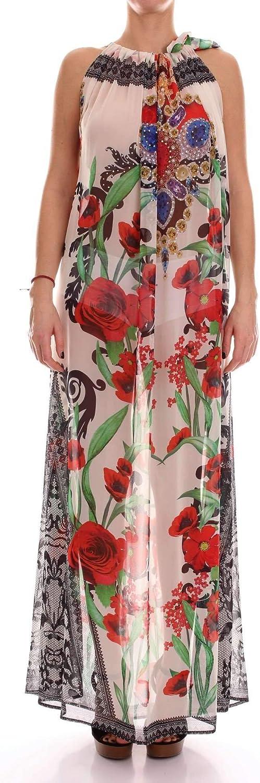 Twins Beach Couture Women's T2197BEIGE Beige Polyester Dress
