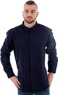 Camisa Jack&Jones Hombre Burdeos 12161547 JORTOMMY Shirt LS Port Royale Slim FIT