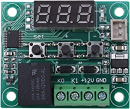 Noblik 2 stks 12 V digitale temperatuurregelaar Board -digitale thermostaat -50-110 °C elektronische temperatuur Temp Cont...