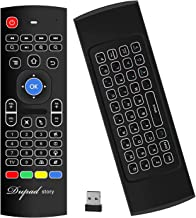 Best Air Mouse,MX3 Pro Backlit Mini Keyboard Remote Control,Mini Wireless Keyboard & IR Learning Air Mouse Remote,Best for Raspberry Pi 4 Android Smart Tv Box HTPC IPTV PC Pad Xbox Review