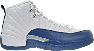 Air 12 Retro Men's Shoes White/French Blue/Metallic Silver/Varsity Red 130690-113 (11 D(M) US)