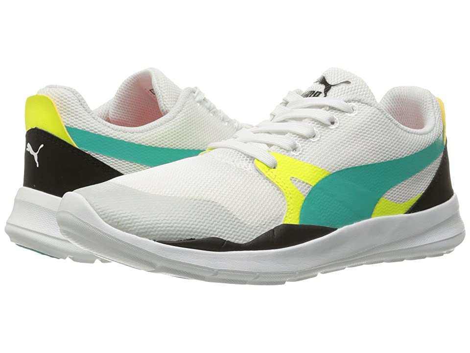 PUMA Duplex Evo (Puma White/Spectra Green/Puma Black) Men