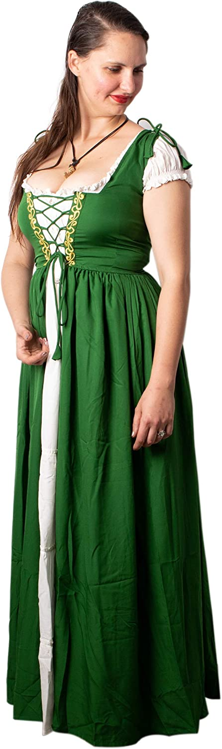 Mythrojan Women's Cheap mail order specialty store Renaissance New mail order Cosplay Reminisce Costume Medieval