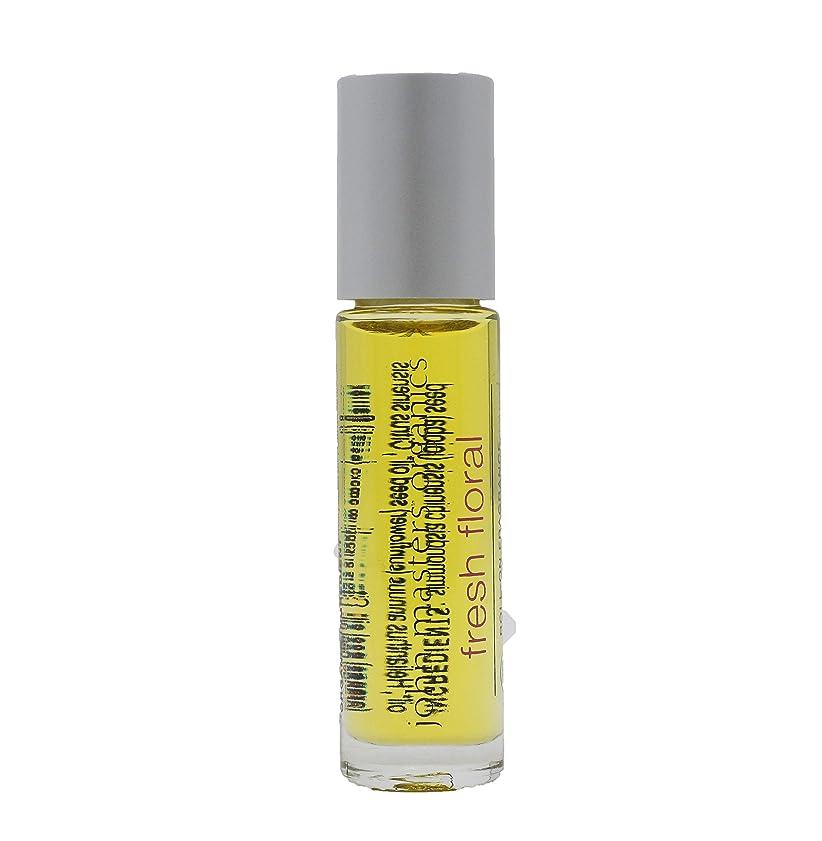 接続詞動機洗剤ジョンマスターオーガニック ロールオンフレグランス(フレッシュフローラル) 9mL