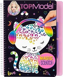 Top Model Magic-Scratch Topmodel Magicscratch Book (0010707