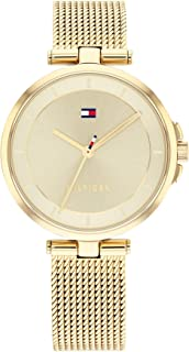 TOMMY HILFIGER CAMI WOMEN's CHAMPAGNE DIAL WATCH - 1782362