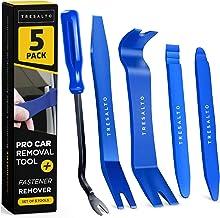 Tresalto Auto Trim Removal Tool Set (Non Marring and No Scratch) Fastener Removal Tool - Auto Trim Kit Car Tools - Easy Re...