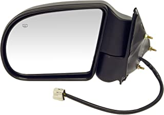 Dorman 955-072 Driver Side Power Door Mirror - Heated / Folding for Select Chevrolet / GMC Models, Black
