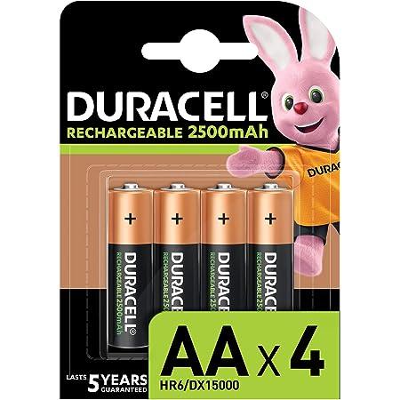Duracell Rechargeable Aa 2500 Mah Mignon Akku Batterien Elektronik