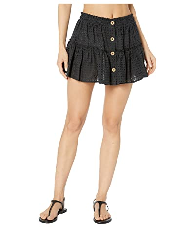 Eberjey Portola Nellie Skirt Cover-Up (Black) Women