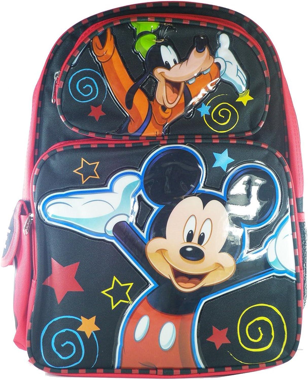 Regulär schwarz schwarz schwarz und rot Mickey Maus Rucksack B008PVGUQY   Überlegene Qualität  3f9477