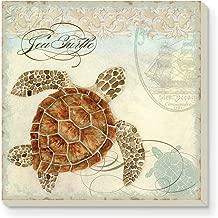CounterArt Sea Turtle Absorbent Coasters, Set of 4