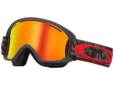 Oakley O Frame 2.0 XM (Camo Vine Night w/ Fire Iridium/Persimmon) Goggles