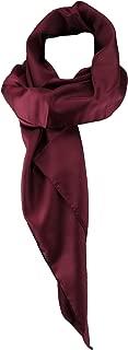 TigerTie Chiffon Halstuch verschiedene Farben Uni Gr. 80 cm x 80 cm