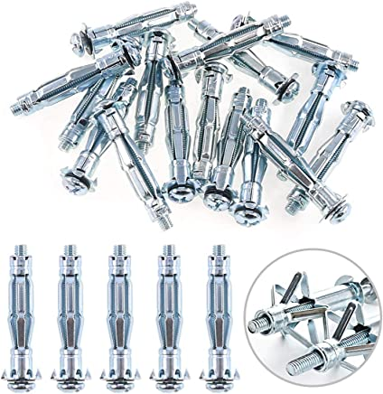 5//16 x 2-1//2 Piece-25 Hard-to-Find Fastener 014973324421 Hollow Wall Anchors