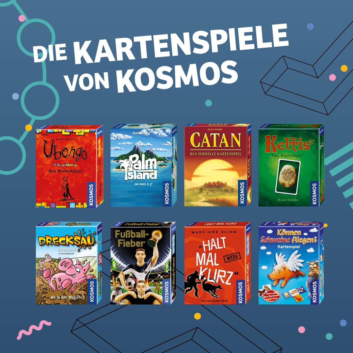 KOSMOS 69909 Estrategia Niños - Juego de Tablero (Estrategia, Niños, 30 min, Niño/niña, 7 año(s), Multicolor): Teuber, Klaus: Amazon.es: Juguetes y juegos