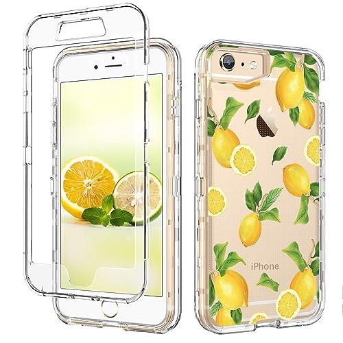 Amazon.com: iPhone 6 Case iPhone 6s Case Lemon Clear GUAGUA ...