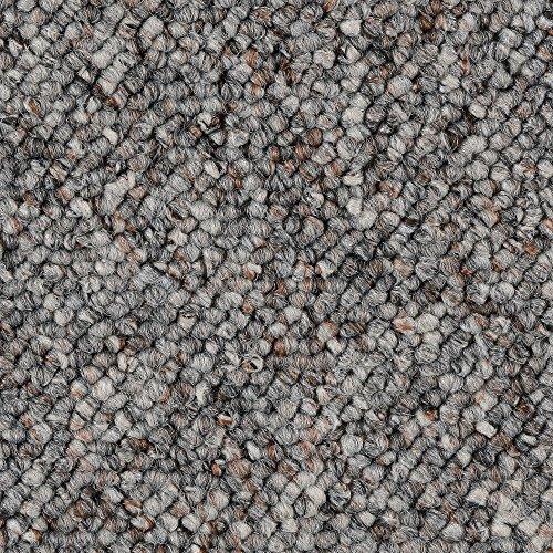 BODENMEISTER BM72181 Teppichboden Auslegware Meterware Schlinge grau 200, 300, 400 und 500 cm breit, verschiedene Längen, Variante, 2 x 5 m
