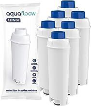 Aquafloow koffiemachine filter compatibel met DeLonghi DLSC002, SER3017 & 5513292811 - inclusief versies van de ECAM, ESA...