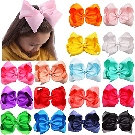 Medium Bow Hair Accessories Big Hair Bow Birthday Gift Baby Girl Headbands Lavender Pinwheel
