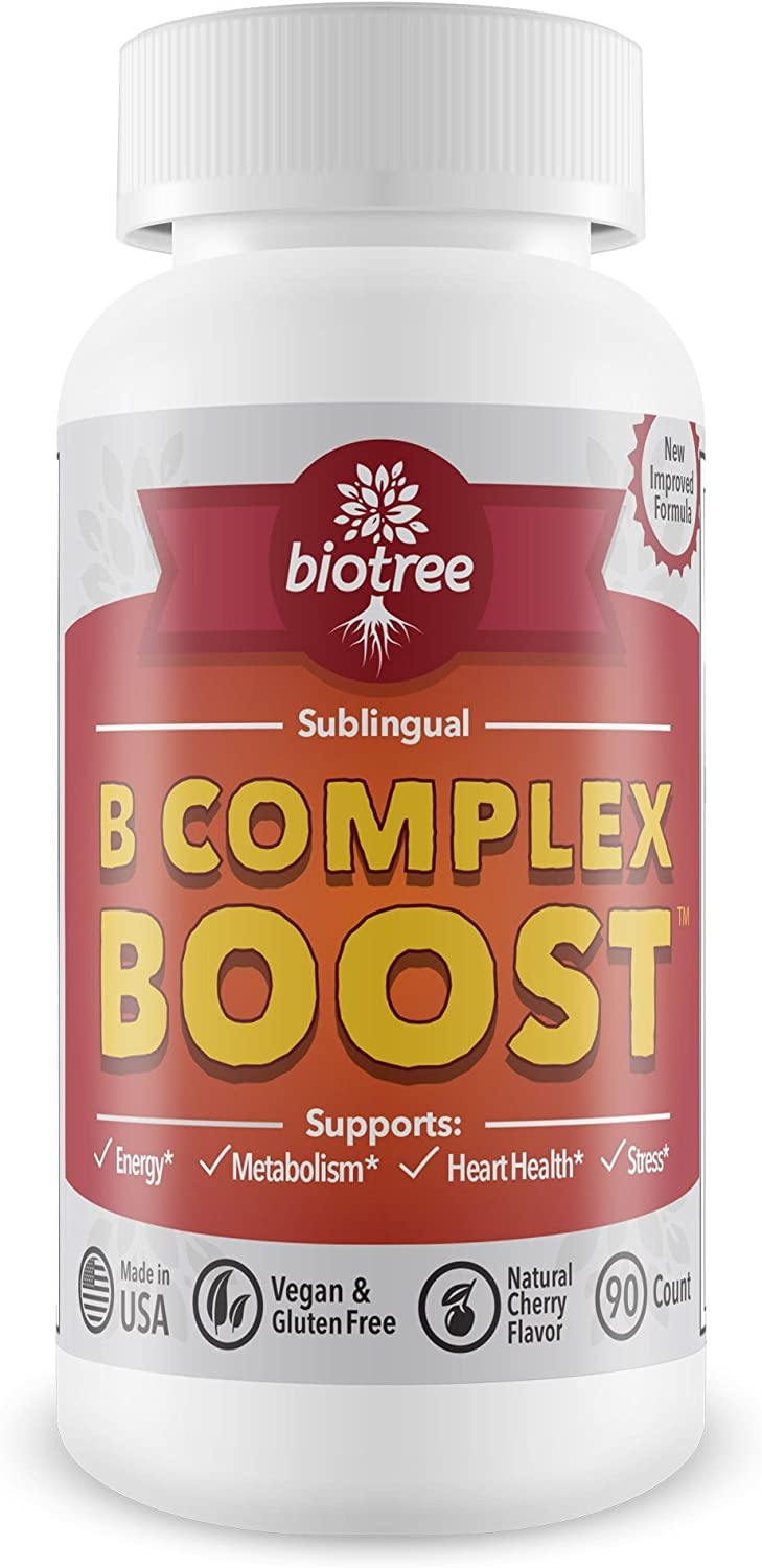BioTree Labs Cherry Vitamin B12 Supplement - Max 66% OFF Pack 90 55% OFF Natural of