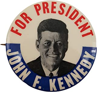 John F Kennedy for President ORIGINAL 1960 Vintage Campaign Button