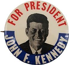 1960 John F Kennedy For President Classic Campaign Button Original