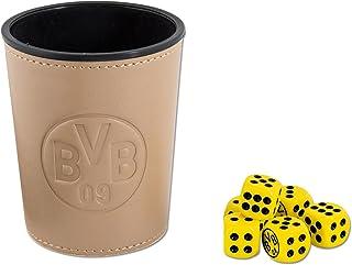 Borussia Dortmund Unisex Bvb-würfelbecher-set, Einheitsgröße