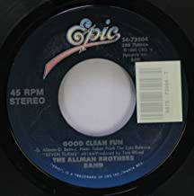 The Allman Brothers Band 45 RPM Good Clean Fun / Seven Turns