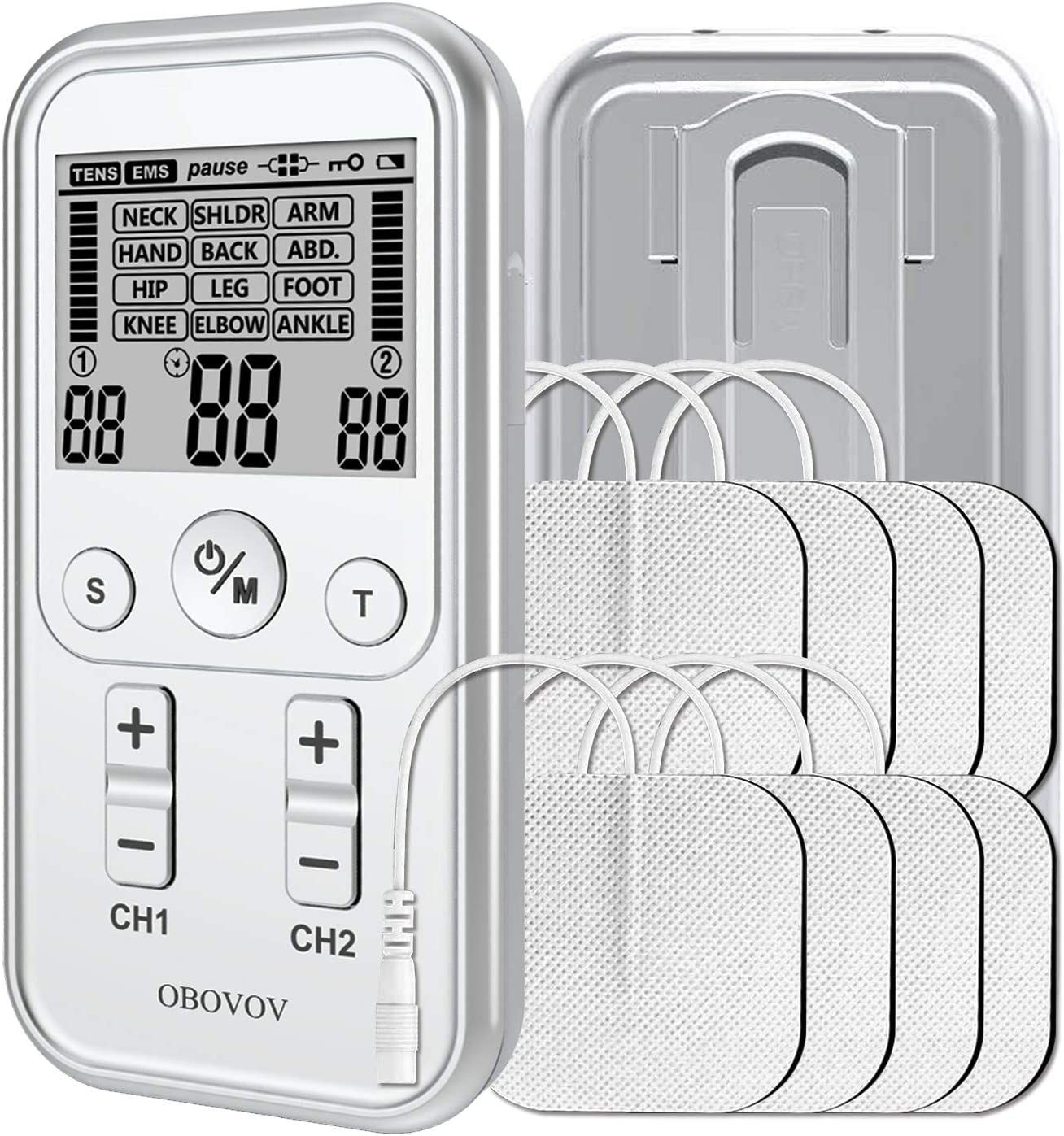 Dual Channel TENS EMS Unit Muscle Bargain Pain 21 for Stimulator 35% OFF Modes