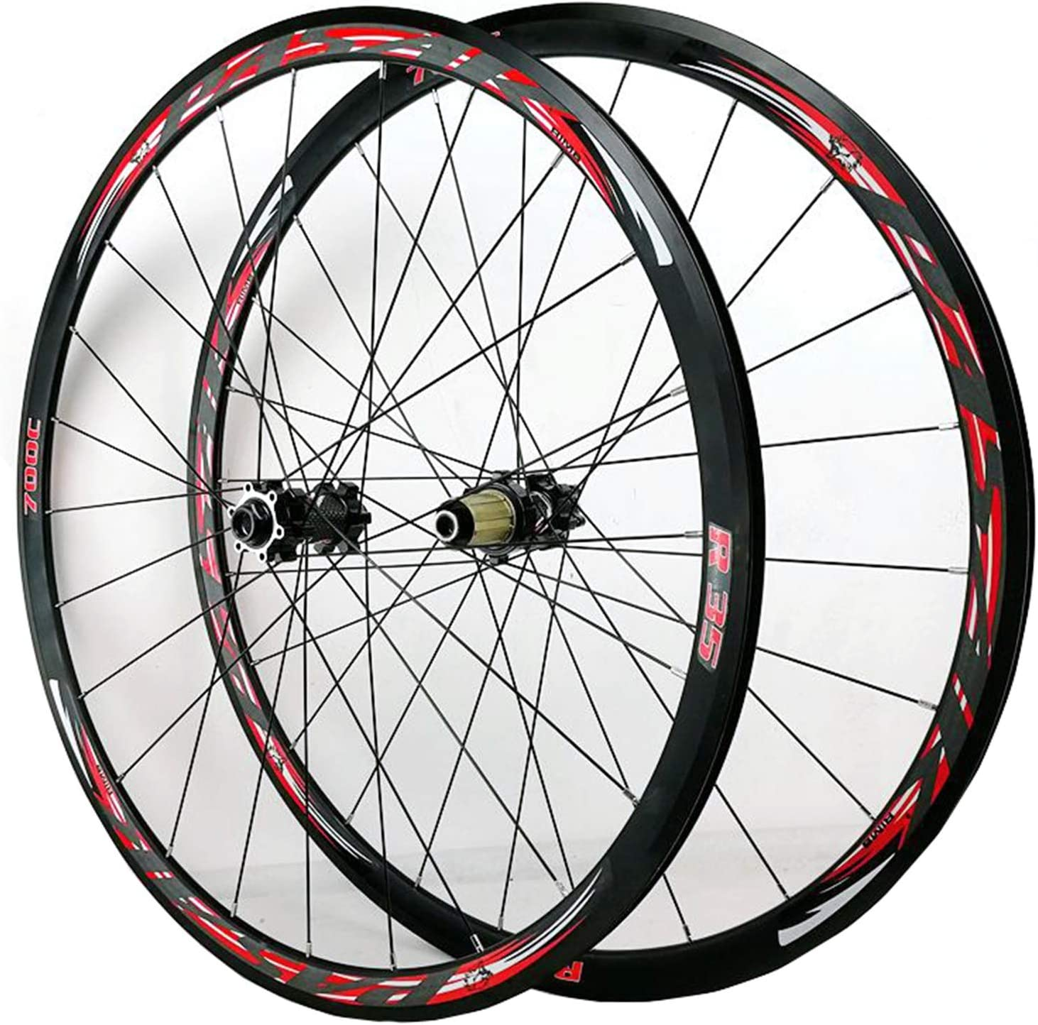 ZCXBHD 700C Disc Brake Road Bike Max 63% OFF Wheelset C 2021 autumn and winter new V Fr Thruaxle
