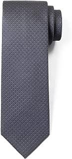 100% Silk Textured Solid Color Men's Skinny Tie 2.5
