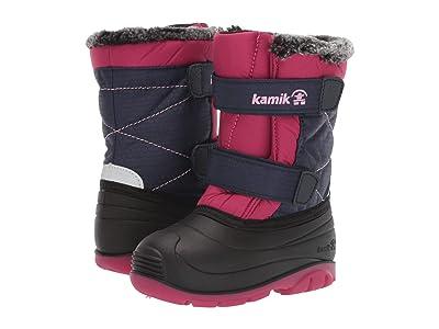 Kamik Kids Sapling (Toddler) (Navy/Rose) Girls Shoes
