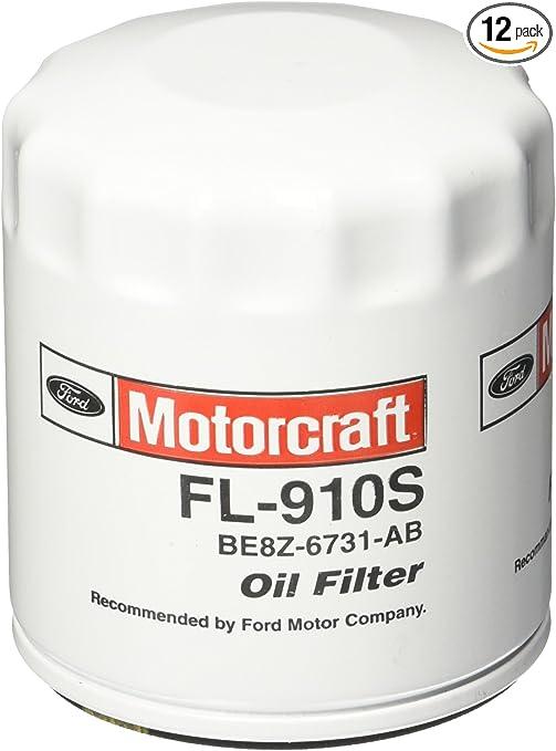 New Case of 12 Motorcraft FL910S Oil Filters FL910SB12 BULK OEM FAST SHIPPING