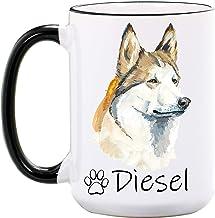 Red Husky Dog Coffee//Tea Mug Gift Idea AD-H68MG